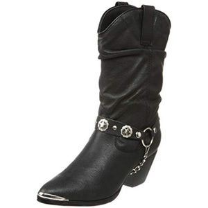 Western boots | Cowgirl boots | NWOT | BLACK